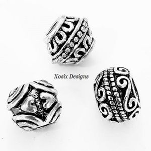 European Deco Charm Bead 3Pc Set